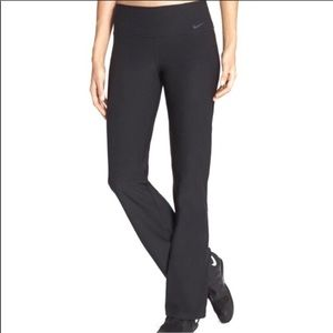 Nike Dri-Fit Black Flare Yoga Pants Size XS Long